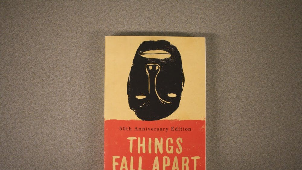 """""""Things Fall Apart"""" was written by Chinua Achebe."""