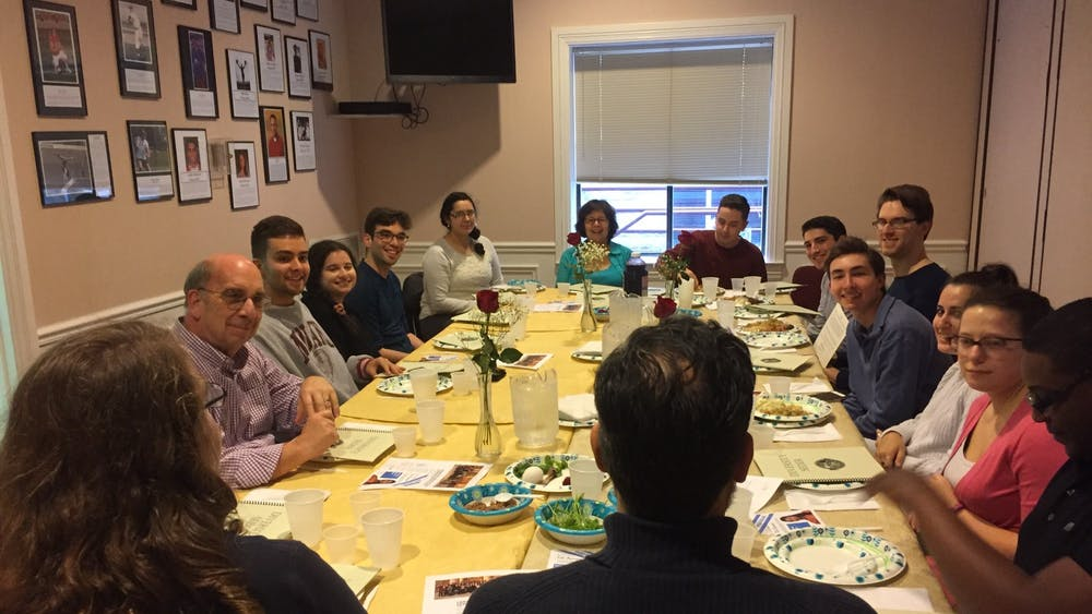 Participants at the 2018 Diversity Seder take turns retelling the Biblical Exodus story. IU Hillel will start this year's Passover programming this week with virtual workshops and Seders.