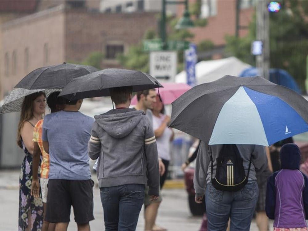 Despite the rain crowds turn out at 31st annual Taste of Bloomington Saturday at N. Morton St. The annual event featured over 40 local restuarants as well as wineries, breweries and live music.