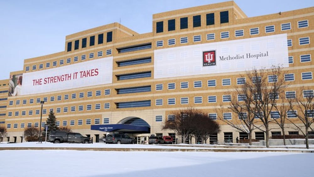 """The IU Health Bloomington Hospital is currently located at the corner of Second and Rogers Streets. Taiyesha Banks, who IU Health confirmed in a statement was no longer an employee, reportedly posted on a Twitter account with the title """"Night Nurse"""" and the handle @tai_fieri. According to an IU Health Bloomington official, Banks was not based in Bloomington."""