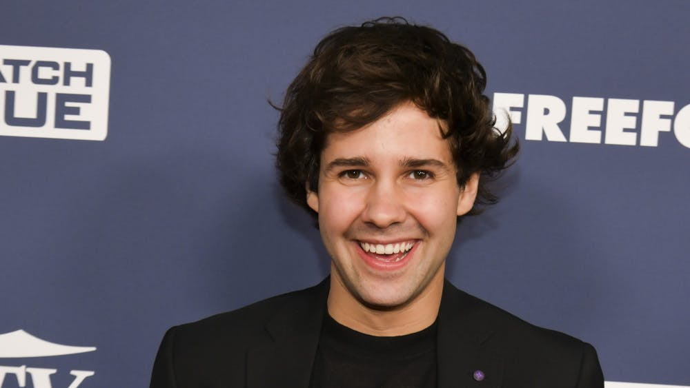 David Dobrik attends an event in 2019 at the H Club in Los Angeles.