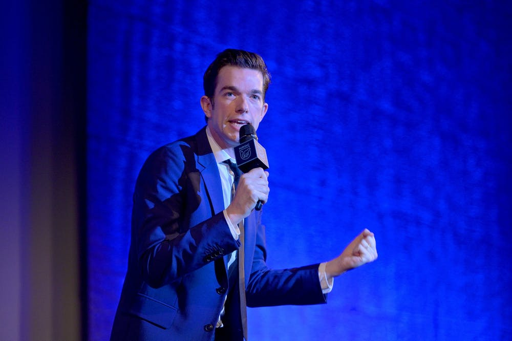 <p>John Mulaney performs onstage at NRDC&#x27;s &quot;Night of Comedy&quot; Benefit, in partnership with Discovery Inc. and hosted by Seth Meyers, on April 30, 2019, in New York City. </p><p></p><p></p>