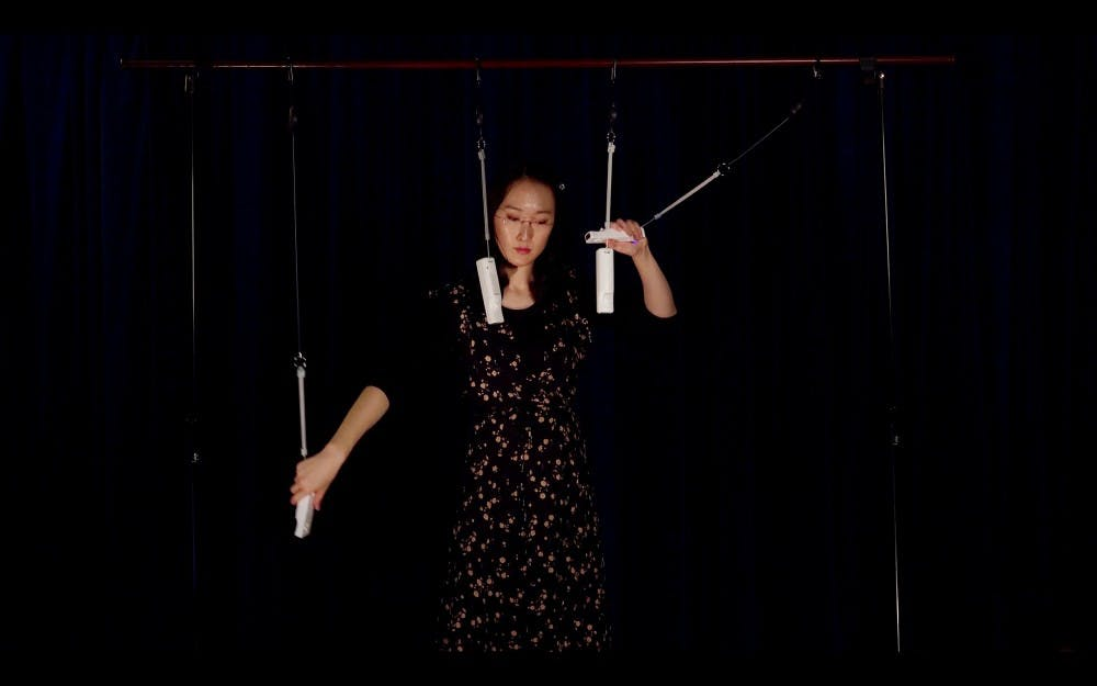 <p>The Computer Music Recital will take place at 8 p.m. Sunday in Auer Hall. The recital, presented by the Center for Electronic and Computer Music, will feature music from students, current professors and incoming professor Chi Wang, who occasionally uses Wii remotes for her music.</p>