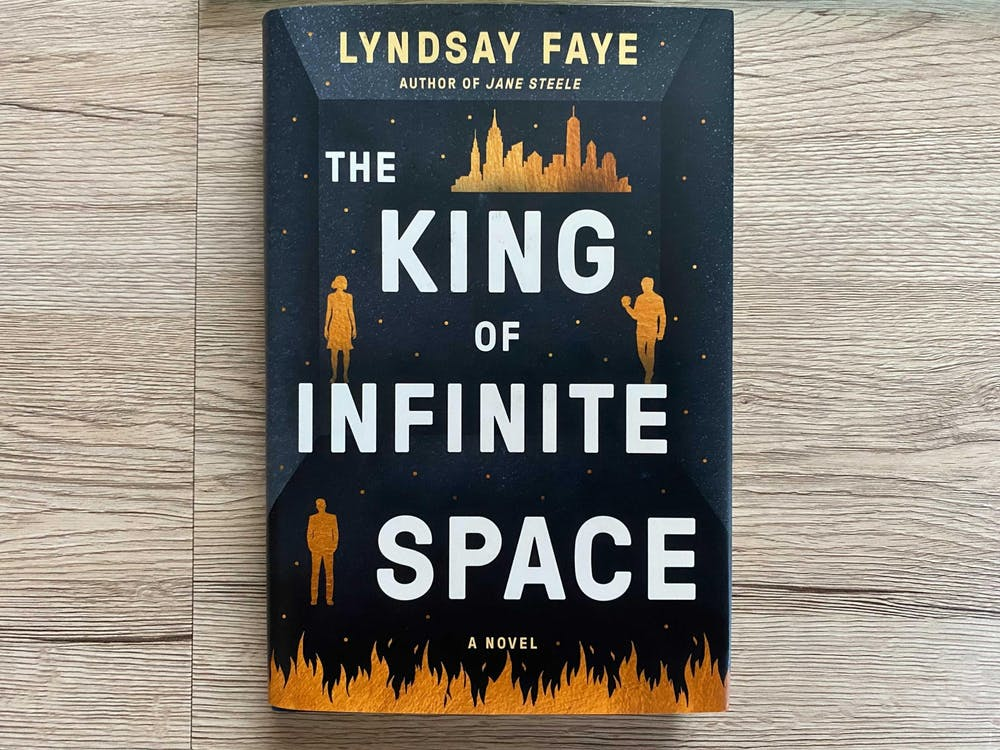 <p>'The King of Infinite Space' is a novel written by Lyndsay Faye taking place in a present-day setting.</p>