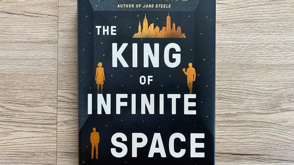 'The King of Infinite Space' is a novel written by Lyndsay Faye taking place in a present-day setting.