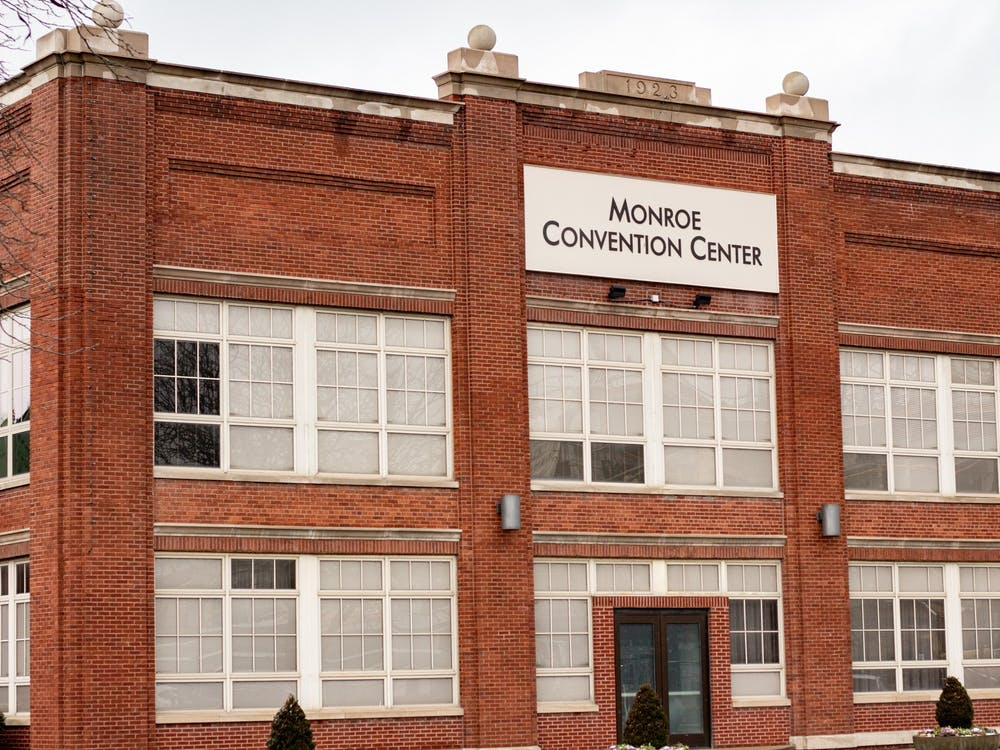 The Monroe County Convention Center located at 302 S. College Ave. It is one of the centers in Monroe County where the COVID-19 vaccine is being distributed.