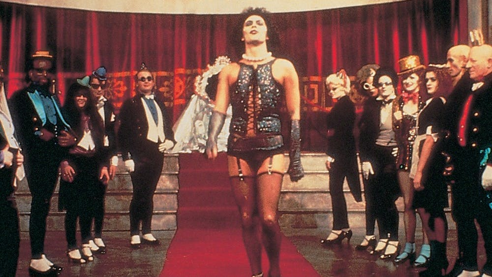"Tim Curry stars in the 1975 cult classic ""Rocky Horror Picture Show."""