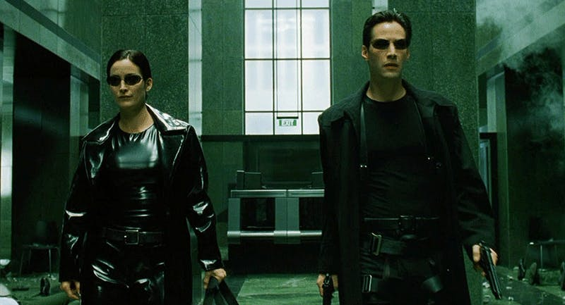 """The Matrix"" trilogy will be shown at 1 p.m. June 1  at IU Cinema. This year marks the 20th anniversary of the first film's release."