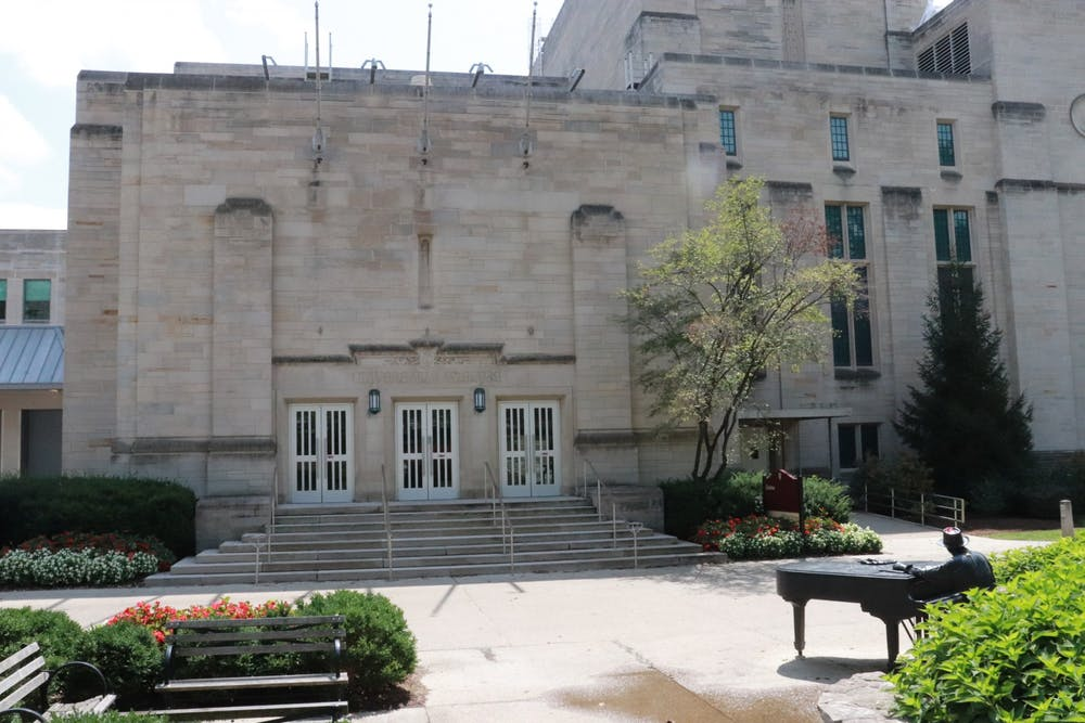 <p>The IU Cinema screens art films, documentaries and more in its building located next to the Neal-Marshall Black Culture Center. Students are able to attend film showings throughout the school year. </p>