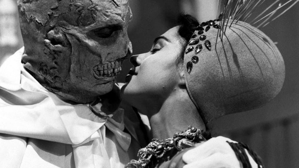 """Vincent Price stars in """"The Abominable Dr. Phibes"""" in 1971."""