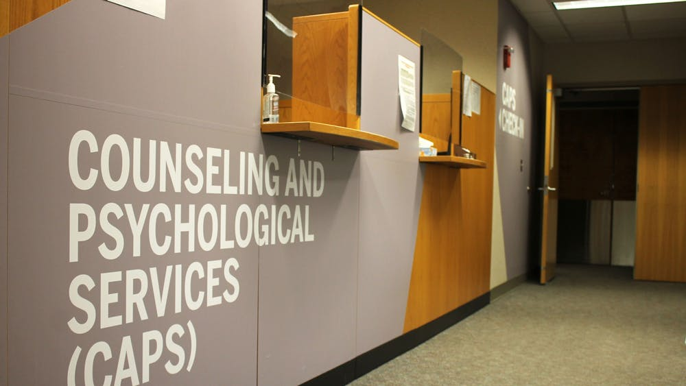 The Counseling and Psychological Services offices are located on the fourth floor of the IU Health Center. The mental health of many students has suffered during the COVID-19 pandemic.