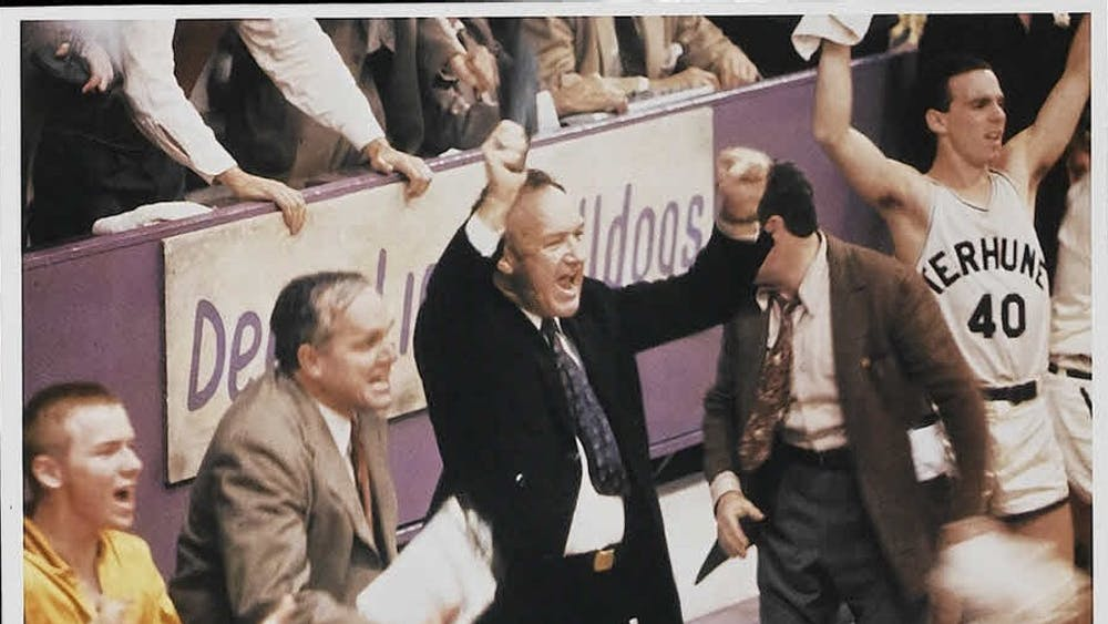Hoosiers, a 1986 film, followed an underdog high school basketball team through the 1952 state championship. The story was loosely based on the 1954 victory by Milan High School.