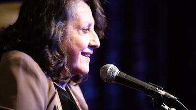 Suzette Weakley performs Feb. 5 at the Songwriter Showcase at Bear's Place.