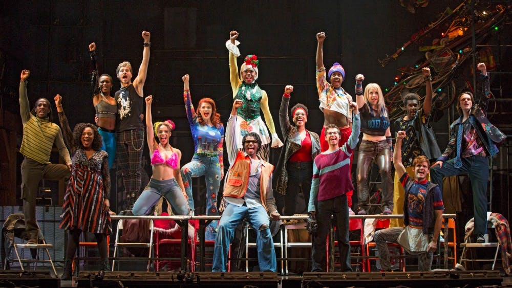 """The Tony Award-winning musical """"Rent"""" will return to Bloomington at 8 p.m. Jan. 28 and 29 during its run at the IU Auditorium. Student tickets for the rock musical start at $17."""