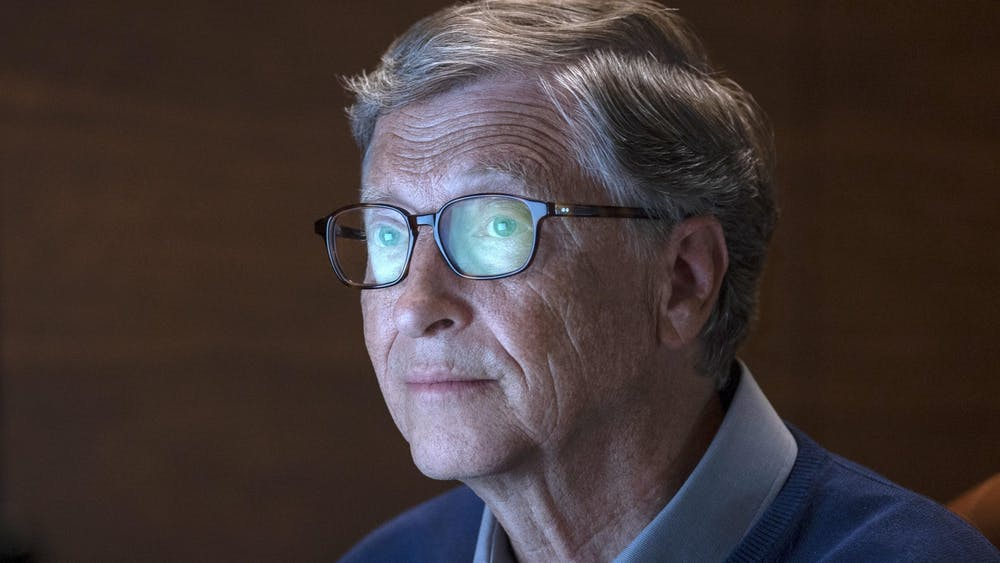 """When speaking with New York Times writer Andrew Ross Sorkin, Bill Gates refused to side with Sen. Elizabeth Warren. """"If I had to pay $20 billion, it's fine, but when you say I should pay $100 billion, then I'm starting to do a little math about what I have left over,"""" he said."""