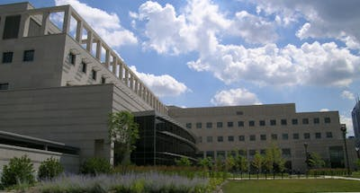 The Informatics and Communications Technology Complex, located on the IUPUI campus, is home to one of the contact tracing workstations. Many students have had issues with IU's contact tracing system.
