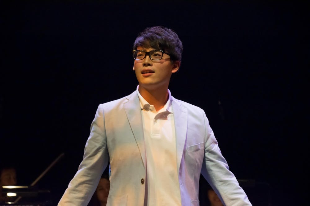 <p>Hippocrates Cheng, a second year doctoral student at the Jacobs School of Music, is a composerand overtone singer.</p>