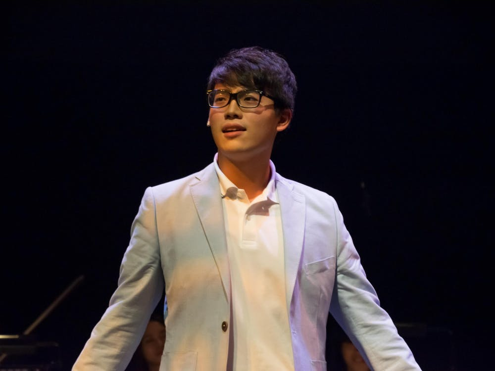 Hippocrates Cheng, a second year doctoral student at the Jacobs School of Music, is a composerand overtone singer.