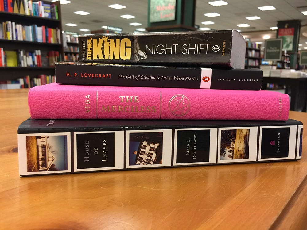 Instead of a scary movie, pick up a horror novel to experience real fright.