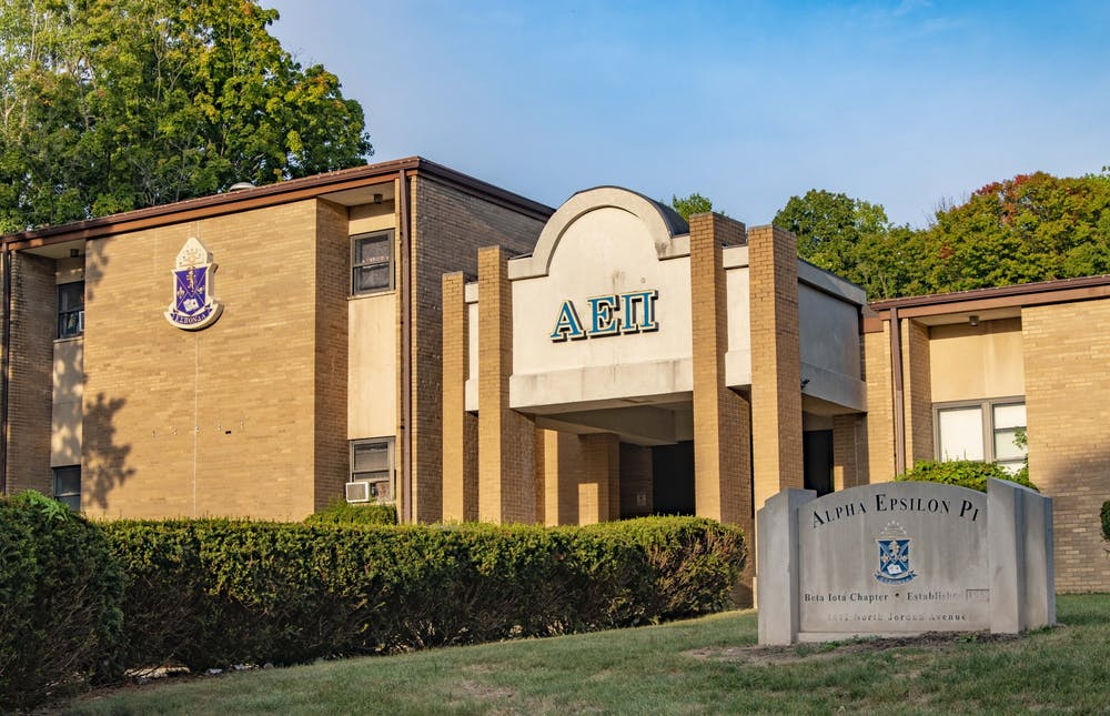 <p>The Beta Iota Chapter of Alpha Epsilon Pi is located at 1412 N. Jordan Ave. The chapter was placed on cease and desist Tuesday.</p>