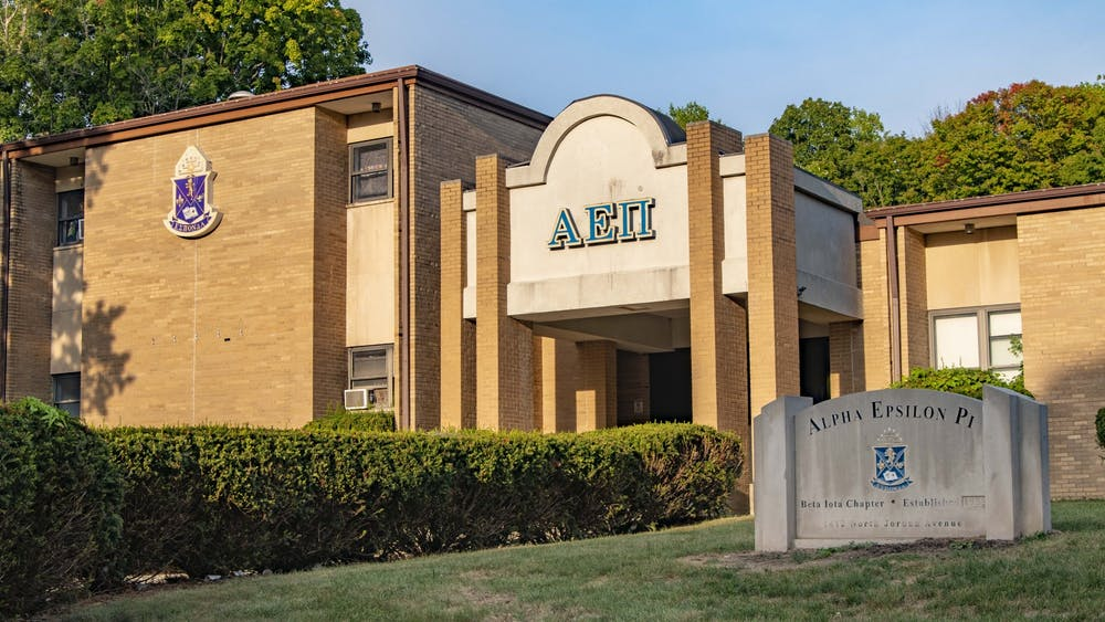 The Beta Iota Chapter of Alpha Epsilon Pi is located at 1412 N. Jordan Ave. The chapter was placed on cease and desist Tuesday.