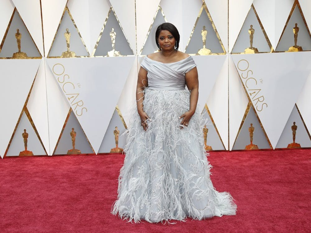 Octavia Spencer arrives at the 89th Academy Awards on Sunday, Feb. 26, 2017, at the Dolby Theatre at Hollywood & Highland Center in Hollywood. (Jay L. Clendenin/Los Angeles Times/TNS)