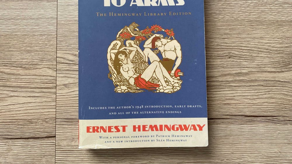"""Ernest Hemingway released his novel """"A Farewell to Arms"""" in 1929."""