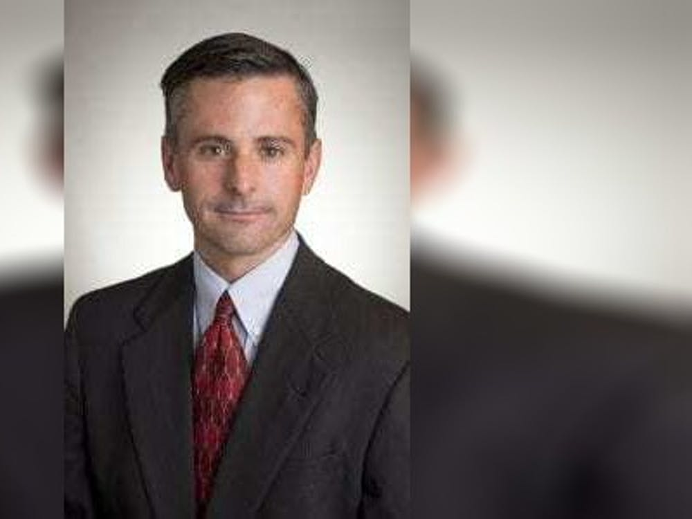 George Ball, an associate professor of operations and decision technologies at the Kelley School of Business, poses for a headshot. Ball was invited to join a national advisory committee to aid in study of the security of the medical product supply chain in the United States.