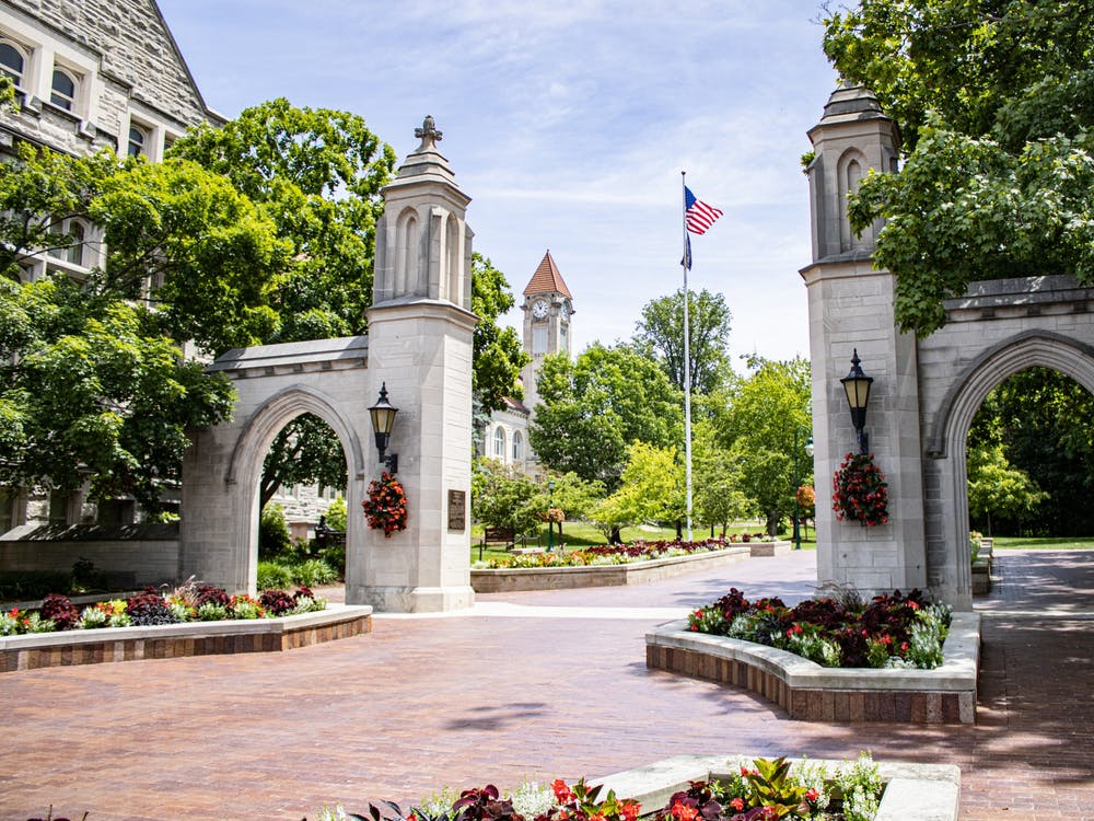 The Sample Gates are a focal point on IU's campus. There are multiple IU-centric terms international students will come to know during their time in Bloomington.