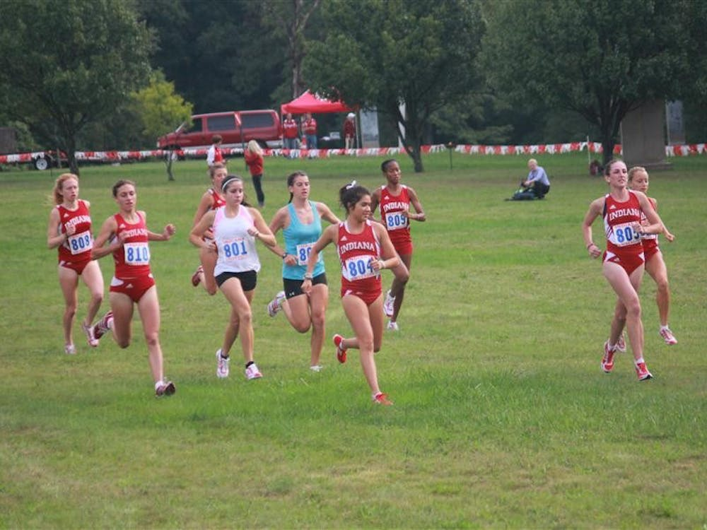 The IU Women's cross country team takes their final run-out Sept. 7 at the season opener.