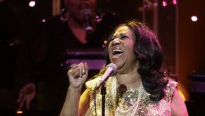 Aretha Franklin in concert at the Microsoft Theatre in Los Angeles on Aug. 2, 2015. Franklin died Aug. 16.