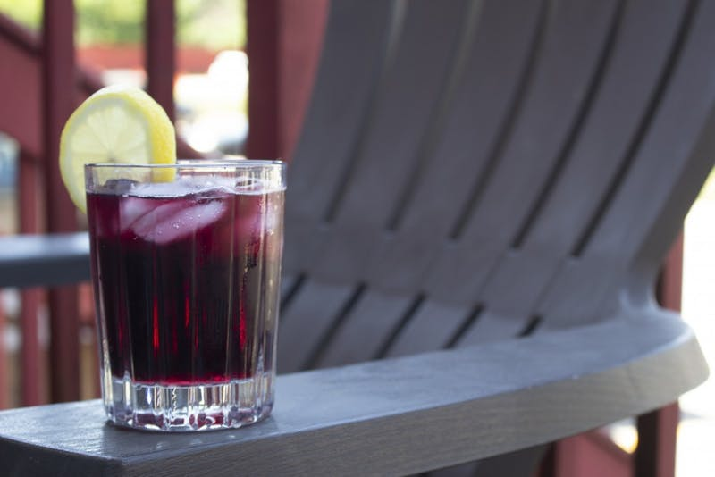 """""""Tinto de verano,"""" translated as red wine of summer, is a popular refreshment in the summer in Spain. Use any red wine and a lemon-flavored soft drink to create the drink's hallmark carbonation."""