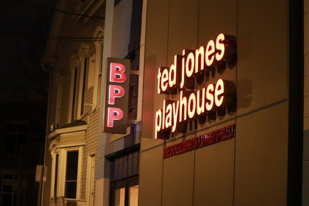 <p>The Bloomington Playwrights Project performs at the Ted Jones Playhouse, located at 107 W. Ninth St. The theater announced their shows for their 2021-22 season Aug. 25, 2021, via social media.</p>