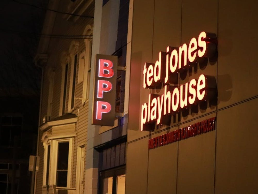 The Bloomington Playwrights Project performs at the Ted Jones Playhouse, located at 107 W. Ninth St. The theater announced their shows for their 2021-22 season Aug. 25, 2021, via social media.