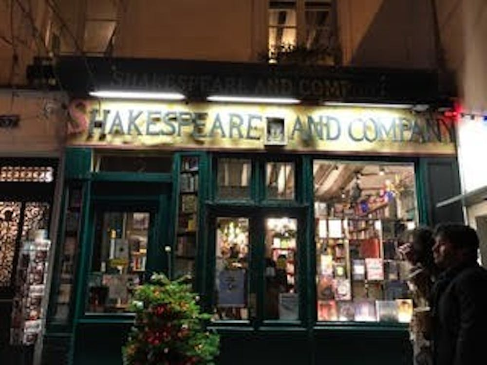 Shakespeare and Company, the most famous English-language bookstore in Paris. Rachel Rosenstock visited the store during her weekend visit in Paris.
