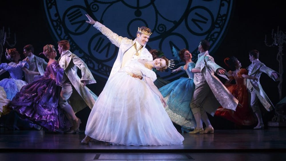 """The Tony Award-winning production of """"Rodgers + Hammerstein's Cinderella"""" plays at 7:30 p.m. Wednesday, Feb. 28, and Thursday, March 1, at the IU Auditorium."""