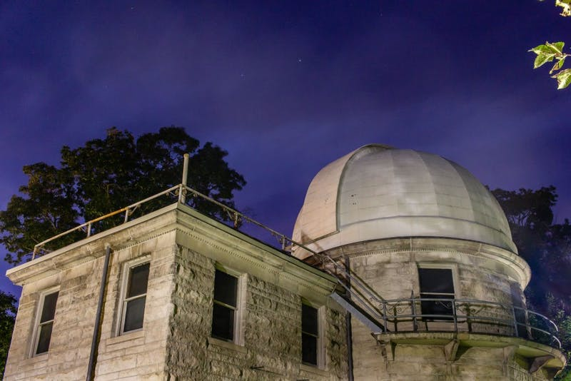 The Kirkwood Observatory offers the public a chance to look at planets, stars and other space objects through its telescope. The observatory is located at 119 S. Indiana Ave.