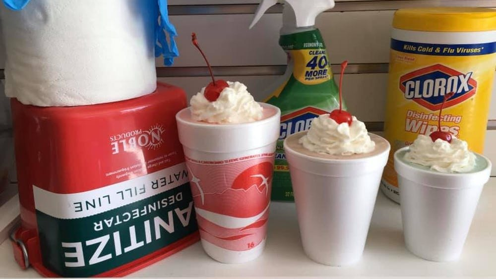 The family-owned business Diamond K Sweets has been making hand sanitizer for emergency workers and Owen County residents from their store in Spencer, Indiana. The chocolate and candy store was about to open a new branch in Bloomington before the COVID-19 pandemic shut  down businesses.