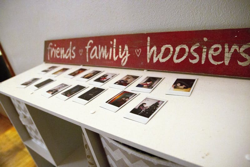 As Polaroid pictures come back into style, students often display them around their rooms, hung up on string lights or set on tabletops.