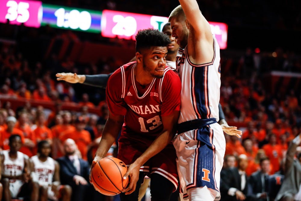 Guyon_IU vs. Illinois Basketball_01242018_006