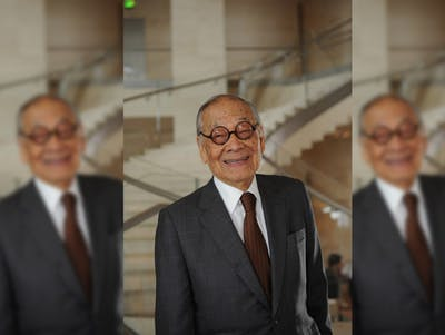 I. M. Pei, the world famous architect known for designing IU's Eskenazi Museum of Art, died at 102.