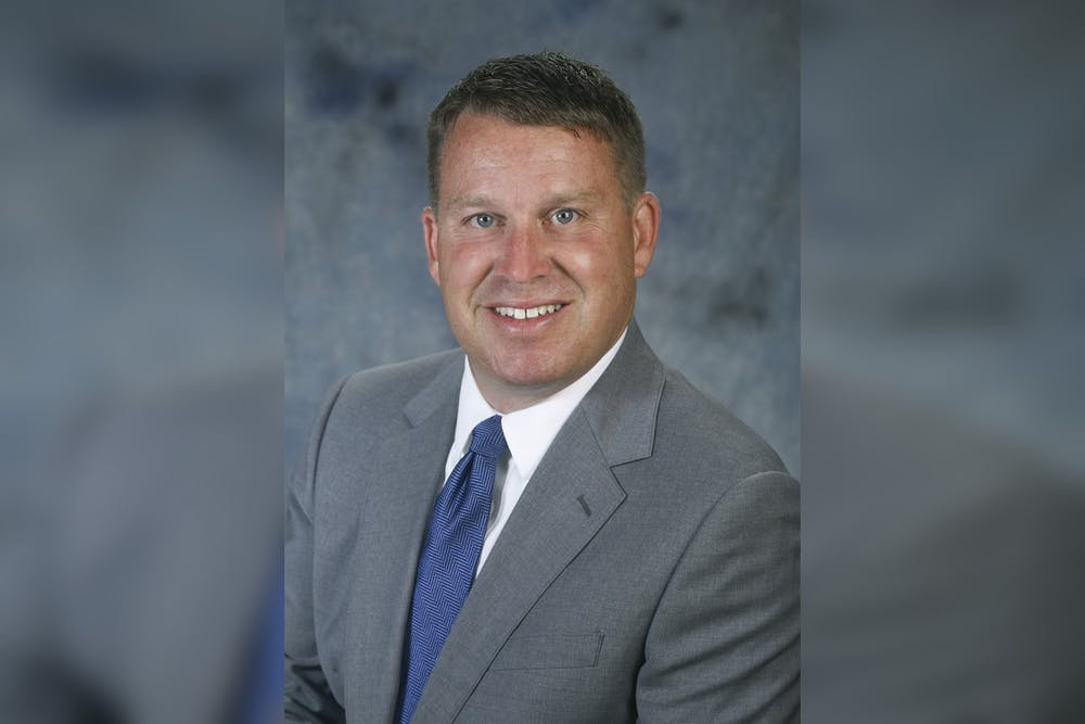 <p>Newly selected Monroe County Community School Corporation superintendent Jeff Hauswald poses for a headshot. Hauswald will leave his role as Kokomo School Corporation superintendent to replace outgoing MCCSC superintendent Judith DeMuth.</p>