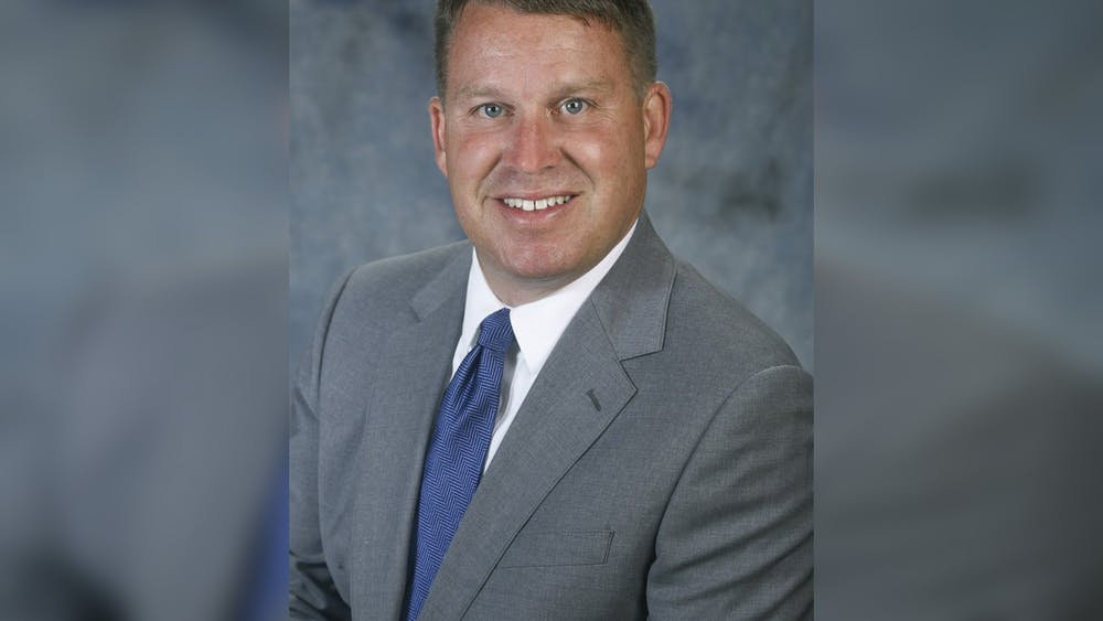 Newly selected Monroe County Community School Corporation superintendent Jeff Hauswald poses for a headshot. Hauswald will leave his role as Kokomo School Corporation superintendent to replace outgoing MCCSC superintendent Judith DeMuth.