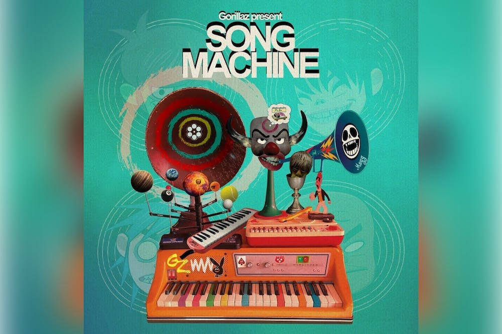 "Gorillaz released its new album, ""Song Machine,"" last month."