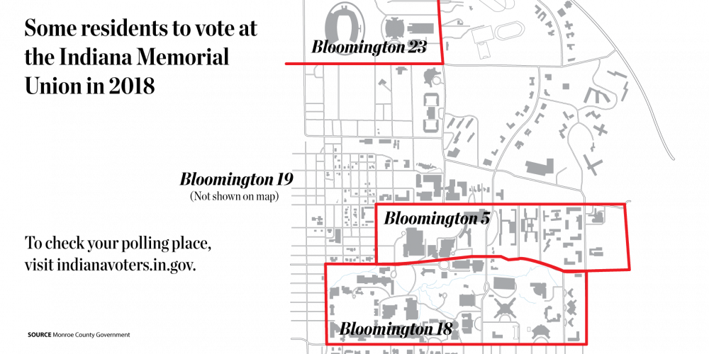 IMU polling stations to be introduced in fall 2018 - Indiana Daily on unc charlotte campus map printable, kent state campus map printable, ohio state university campus map printable, purdue campus map printable, vanderbilt campus map printable, uga campus map printable, msu campus map printable, ou campus map printable, iupuc campus map printable, iu bloomington campus map printable, clemson university campus map printable, utsa campus map printable, uci campus map printable, twu campus map printable, wsu campus map printable, syracuse university campus map printable, nc state campus map printable, auburn university campus map printable, sdsu campus map printable, ccsu campus map printable,