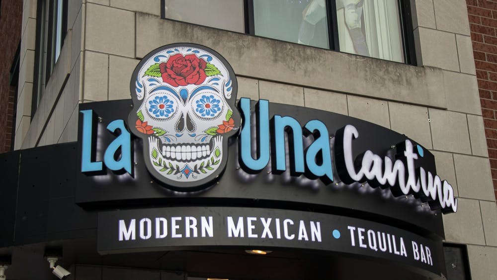 La Una Cantina sits March 3 on the corner of Seventh and North Walnut Streets. The modern Mexican restaurant opened March 3.