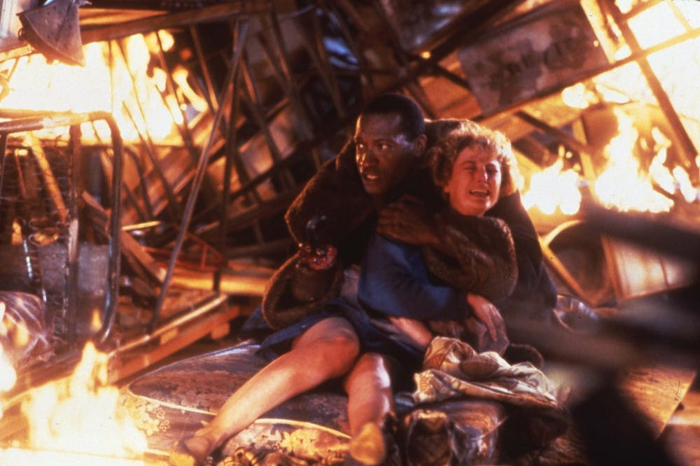 <p>Tony Todd and Virginia Madsen in the 1992 film &quot;Candyman&quot;. Nia DaCosta directed the fourth film in the series, which premiered Aug. 27, 2021.</p>