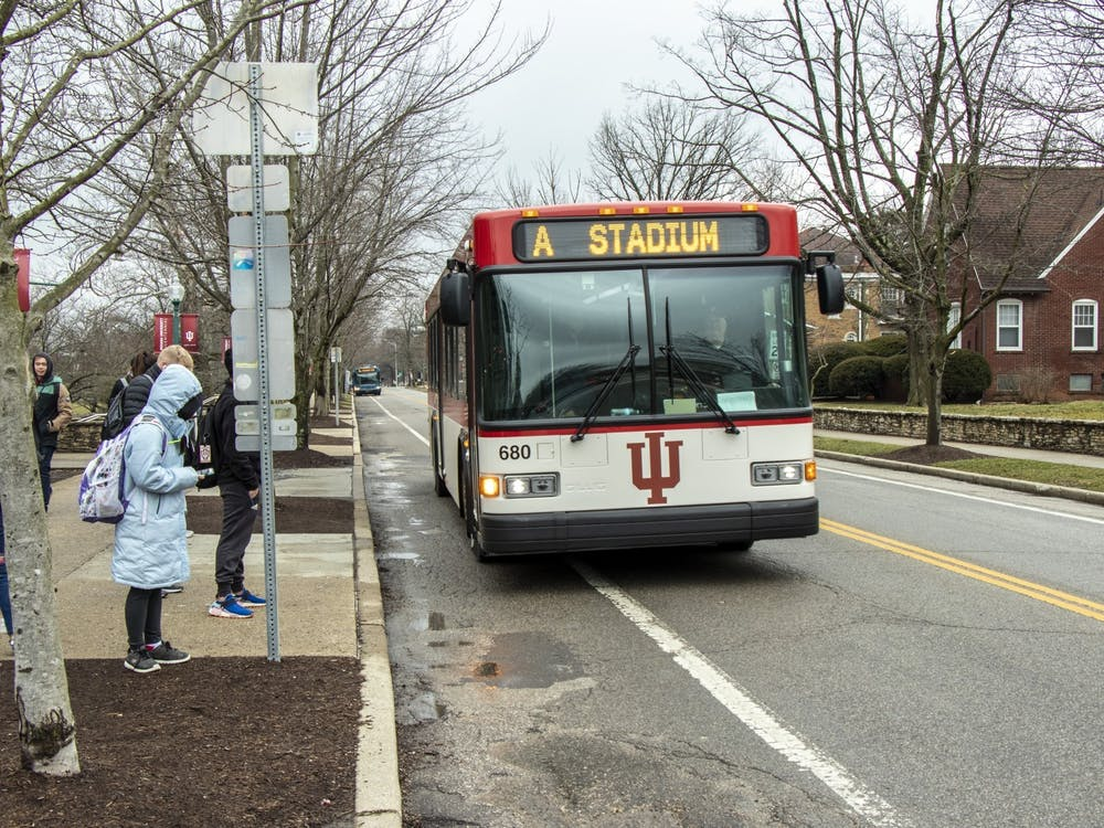 IU will be adjusting the campus bus schedules for the intersession period between the fall and spring semesters.