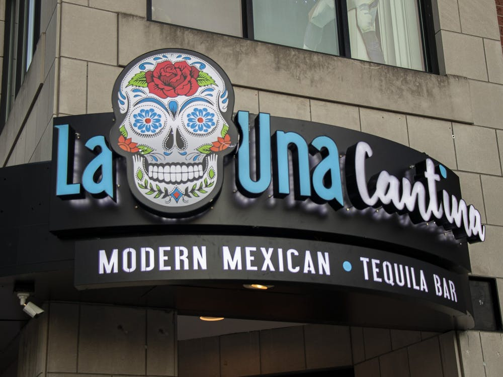 La Una Cantina is located on the corner of Seventh and North Walnut streets. The modern Mexican restaurant opened March 3.