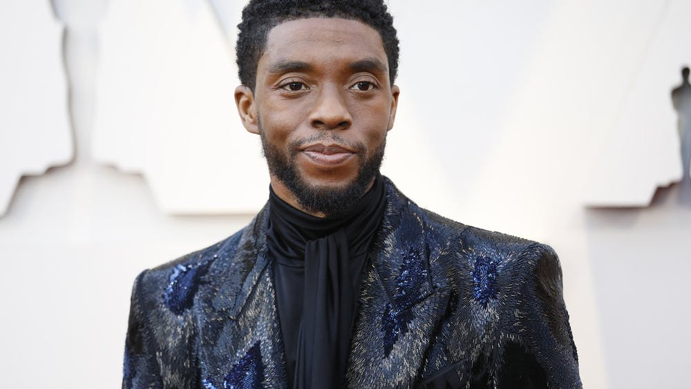 Chadwick Boseman arrives at the 91st Academy Awards on Feb. 24, 2019, at the Dolby Theatre at Hollywood & Highland Center in Los Angeles. Boseman died Aug. 29 after a four-year long battle with cancer.